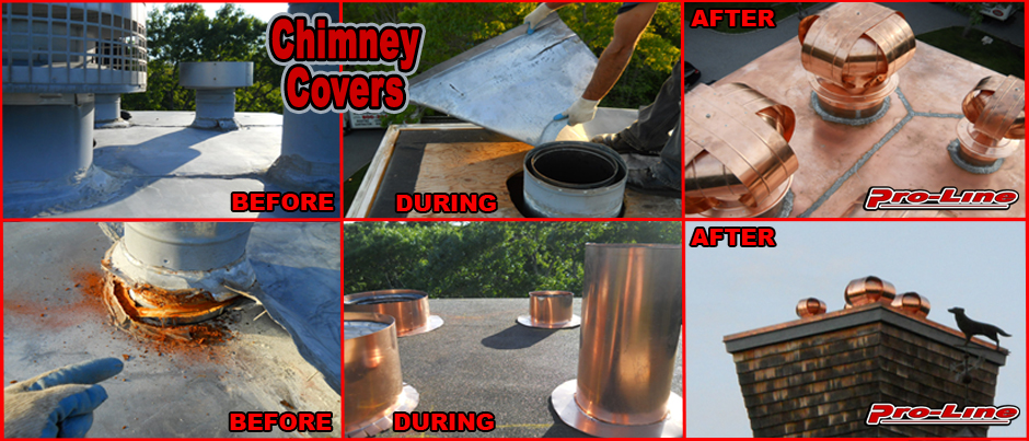 ProLine Chimney Chase Cover Installation