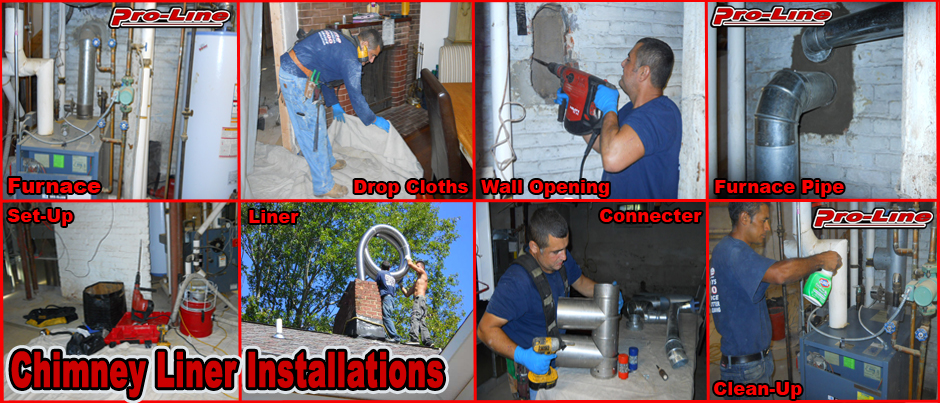 ProLine Chimney Liner Installation