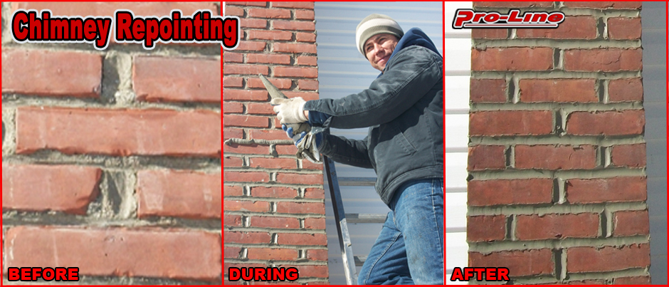 ProLine Chimney Repointing Masonry Joints