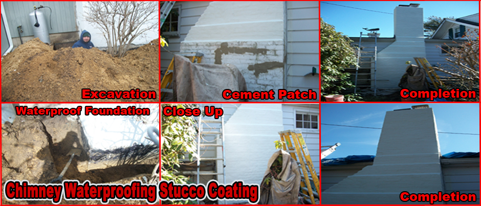 ProLine Chimney Waterproofing Stucco Coating