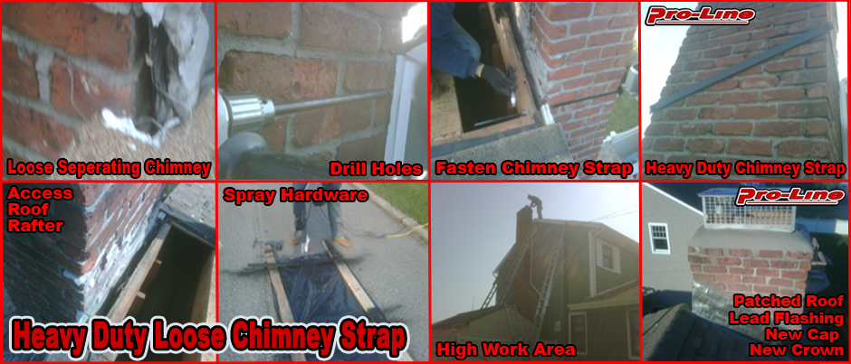 ProLine Heavy Duty Loose Chimney Strap Installation