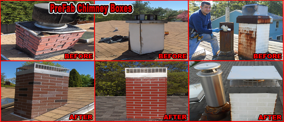 ProLine PreFabricated Metal Chimney Box Replacement